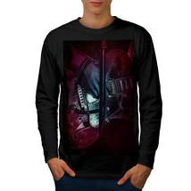 Bass Guitar Artist Music Tee Music Concert Men Long Sleeve T-shirt - $14.99