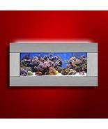 Aussie Aquarium AA-SKYLINE-SSTAIN 2.0 Wall Mounted Aquarium Silver Stain... - $257.31