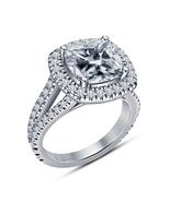 Diamond 925 Silver Celebrity Lala Vasquez Solitaire W / Accents Engageme... - $79.50