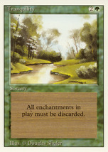 Magic: The Gathering 3rd Edition - Tranquility - $0.25