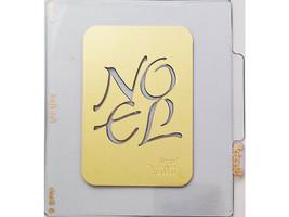 Sizzix Metal Embossing Plate, Noel #38-9669 image 1