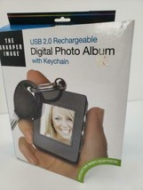 The Sharper Image Digital Photo Keychain, Black - $18.69