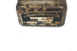 CHISHOLM MOORE HOIST CORP.  HD-1200 PENDANT CONTROLLER PUSHBUTTON image 4