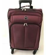 """NEW Tag Daytona 25"""" Luggage Burgundy Expandable Spinner Suitcase - $54.22"""
