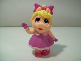 Nwob Disney Junior Muppet Babies Miss Piggy Pvc Figure New Loose 2018 - $12.69
