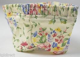 Longaberger Coaster Basket Liner Spring Floral Decorative Collectible Fa... - $10.99