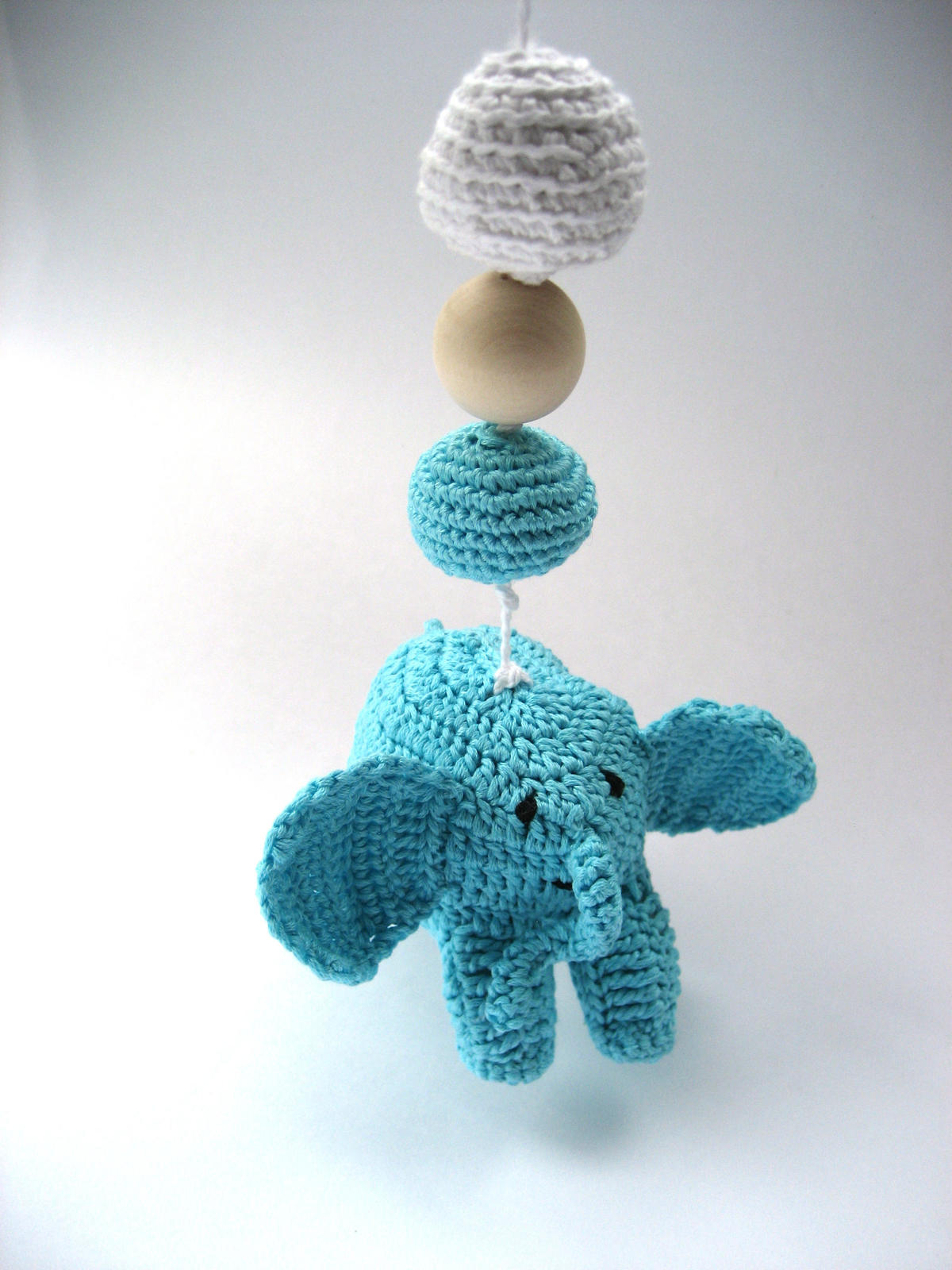 Elephant Mommy and Baby Afghan, C2C Crochet Pattern | 1600x1200