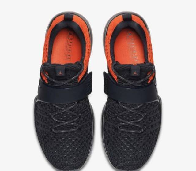 buy popular d5b33 ba875 ... Air Jordan Trainer 2 Flyknit Grey Orange 921210-012 ...