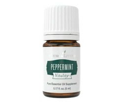 Young Living Peppermint Vitality Essential Oil 5ml - New! - $9.99