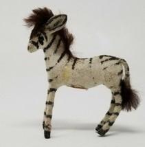 Vintage Wagner Kunstlerschutz Zebra Animal Figure Label  - $18.80
