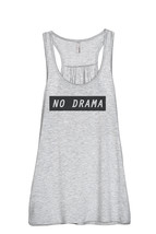 Thread Tank No Drama Women's Sleeveless Flowy Racerback Tank Top Sport Grey - $24.99+