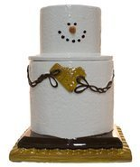 Earthenware S'mores Ceramic Cookie Jar - $64.30
