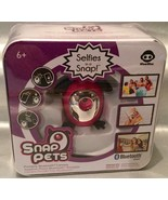 Snap Petz Pink RABBIT Mini BLUETOOTH CAMERA Great For Selfies NEW - $27.81