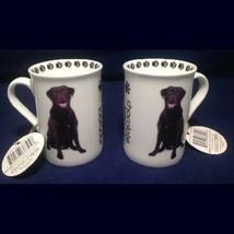 Mug 9oz Labrador Chocolate Pet Dimension TWO Coffee Tea Cocoa - $21.78