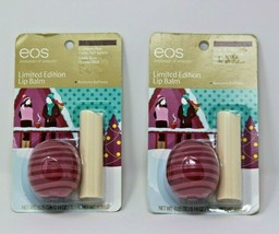 EOS Cranberry Pear Sphere & Vanilla Bean Organic Stick Limited Edition L... - $17.80