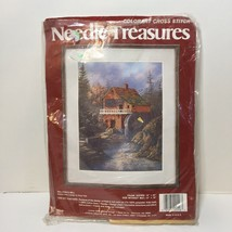 "Sullivan's Mill Colorart Cross Stitch Kit Needle Treasures 14"" x 18"" - $9.74"