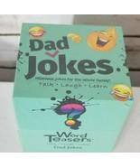 Word Teasers- DAD JOKES CARD GAME -300 HILARIOUS Jokes, Factory Sealed - $18.61