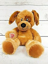 Build a Bear Workshop Lucas Puppy Dog Plush Soft Toy Stuffed Animal 15.5... - $14.20