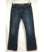 Levis 527 Mens Jeans 32x34 W32 L34 Distressed 100% Cotton Low Boot Cut  ... - $24.87