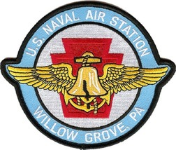 USMC NAS Willow Grove Naval Air Station Pa. Patch is darker blue - $11.87