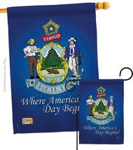 Maine - Impressions Decorative Flags Set S108133-BO - $57.97
