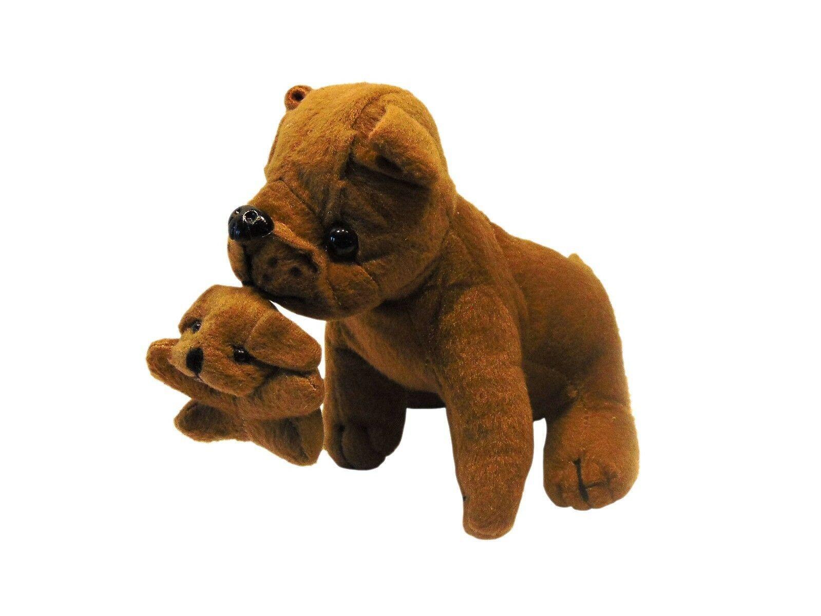 OTC Puppy Love Momma Dog & Pups, Great Dane Mini Plush