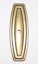 Vintage Allison Amerock Backplate For Knob Polished Brass 1978 Canada - $4.97