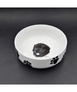 Vladimir Tzenov Signed Rosalinde Porcelain Bowl Newfoundland Dog Head St... - $29.95