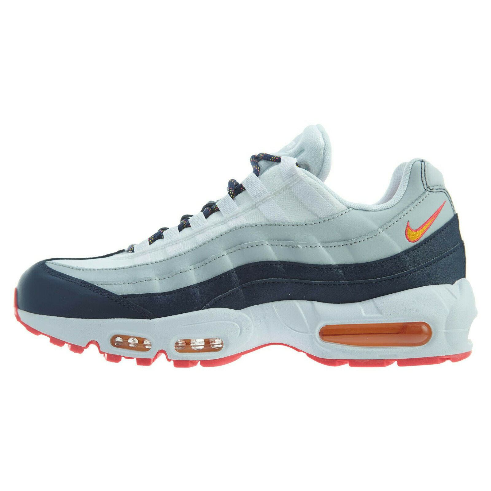 Primary image for Women's Nike Air Max 95 Midnight Navy/Pure Platinum 307960-405 Women Size 7