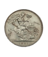 1896-LX Great Britain Silver Crown in VF Condition KM #783 Sterling Silver - €237,59 EUR