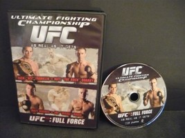 UFC 56 - Full Force DVD Not Rated Sports Recrea... - $3.78