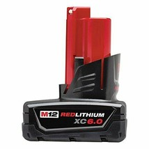 Milwaukee 48-11-2460 M12 REDLITHIUM XC6.0 Extended Capacity Battery Pack - $93.26