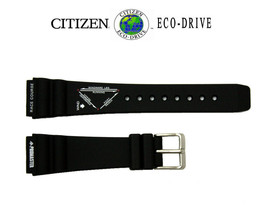 Citizen 59-G0008 Original Replacement Black Rubber Watch Band Strap - $52.96+
