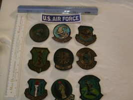 US Air Force collectors Patch Set 10 patches embroidered - $17.81