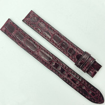Cartier 12mm Burgundy Leather Strap for Buckle 5801A03 OCCB - $199.00