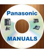 HUGE PANASONIC phone Program Install Admi Telecom SYSTEM 160+ MANUALS Ma... - $12.99