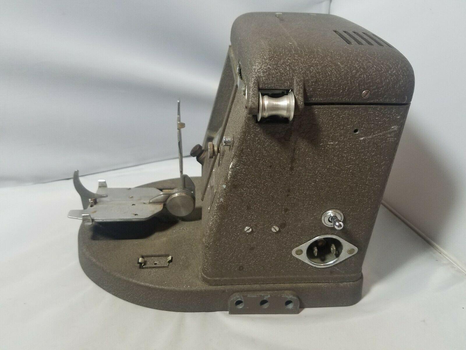 Vintage Bell & Howell Filmo 16mm Film Viewer 146-A 115 Volt AC Dc