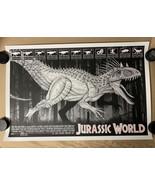 Jurassic World by Dan McCarthy 36x24 MONDO Poster Print 117/125  - $85.45