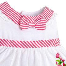 Mayoral Baby Girl 3M-24M RedWhite/Green Stripes-n-Floral Top/Legging Set image 3