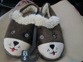 Toddler Boys Bear Slipper By wonder nation New - $6.50