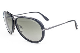 Tom Ford Cyrille Black / Green Polarized Sunglasses TF109 08R - $263.62