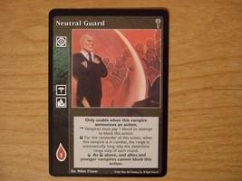 Neutral Guard (VTES- Legacies of Blood) - $10.00