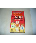 Richard Scarry's Best ABC Video Ever! (VHS, 1989) Random House - $3.96