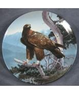 The Golden Eagle Collector Plate Majestic Birds of North America Daniel ... - $24.95