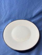Vintage Rosenthal Continental Germany White Classic Platinum Trim Dinner... - $21.99