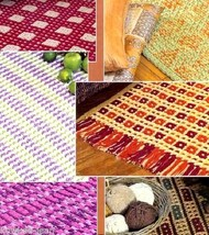 More Easy Rugs To Crochet Patterns, 8 Designs Styles B - $4.81