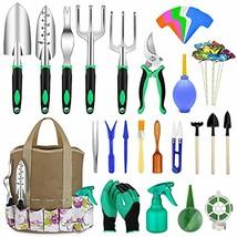 82 Pcs Garden Tools Set, Extra Succulent Tools Set, Heavy Duty Gardening... - £34.80 GBP