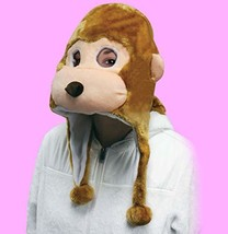 Flurry Friends Mask Mark The Monkey Brown - $23.93 CAD