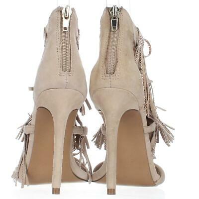 Steve Madden Fringly Dress Sandals, Blush Multi, 6 US Display