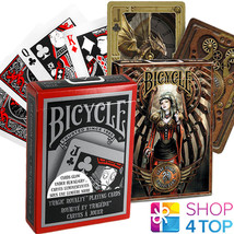 2 Jeux Bicycle 1 Tragic Royalty Et 1 Anne Stokes Steampunk Playing Cartes Uspcc - $19.83